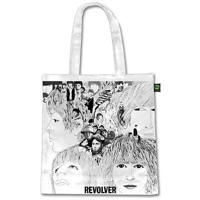 The Beatles Revolver Album Cover Tote Shopping Bag For Life Gift Official CD LP