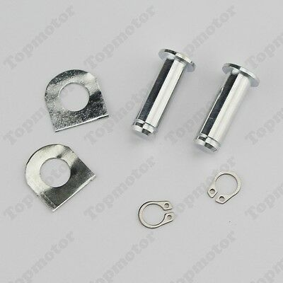 Foot Pegs Mount Kit Pins For Harley FXD FXS FLST FXSTS FXR FLHX XL883N XLH1200