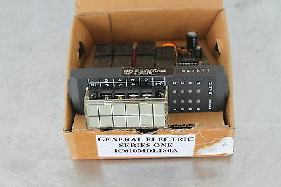 General Electric Ge Fanuc Ic610Mdl180A Output Module Relay 8 Point