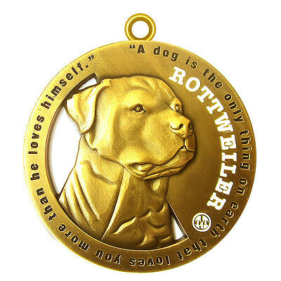 "Rottweiler Pet ID Tag 1.75"" Tags4Tails Limited Edition"