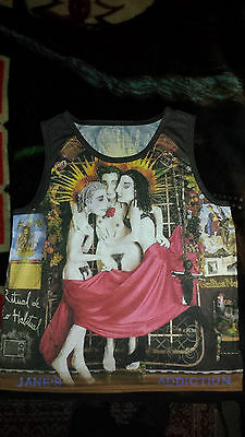 Jane's Addiction - Ritual (Double Sided) Tank Top, Sublimation print,  L (Rare)