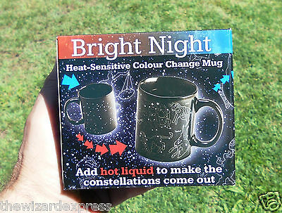 Black Star Night Changing designed Designer Mug (Brand New)