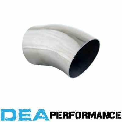 Exhaust Tip Droopy Pipe Stainless Steel Outlet 2 1/2'' Inlet 2 1/2'' Length 4''