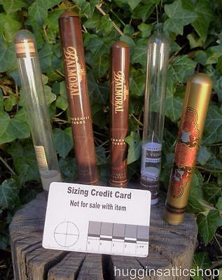 More Empty Cigar tubes for Crafts Bushcraft Survival Scouts Storage Collectors