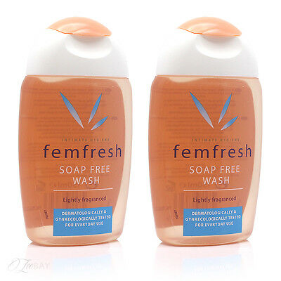 Femfresh Intimate Hygiene Soap Free Wash 150ml x2