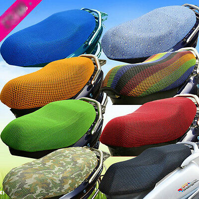 Motorcycle Motorbike Scooter Breathable Mesh Seat Saddle Cover Protector