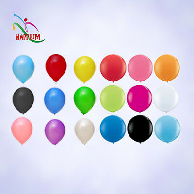 Latex Helium Air Metallic Balloons Quality Party Birthday Colours 10 12 36 Inch