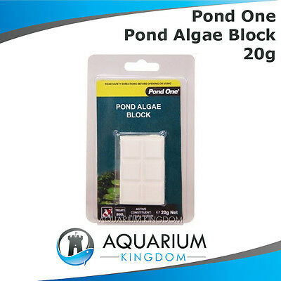 Pond One Algae Blocks 20g Control & Eliminate Green Water in Pond/Water Feature