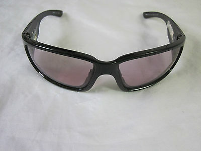 US Army Wiley X Zak Polarized Sunglasses Clear Lens Gloss Black Gently Used