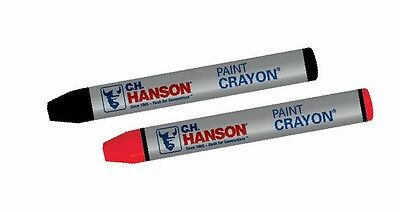 CH Hanson 10472 Red Paint Crayons - 12 Count