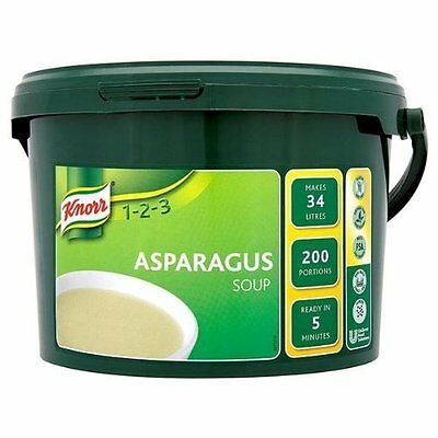 Knorr 200 Portion Soup Asparagus 1 x 200 prtn