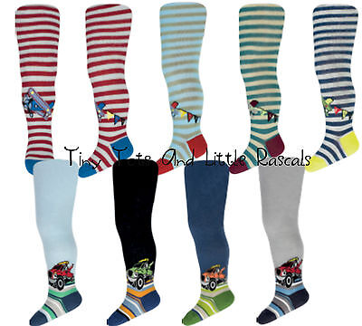 Infant Boys Toddlers Kids Cotton Rich Tights Leg Warmers Size 0 1 2 3 4 years