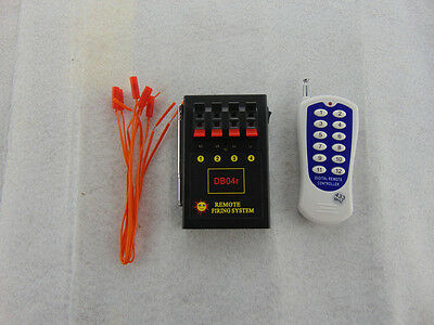 4Cues Fireworks Firing system Smart Wireless Remote Safety Igniter Electric wire
