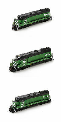 3 Athearn RTR Burlington Northern BN GP35 Locomotives - HO - DC (DCC Ready)