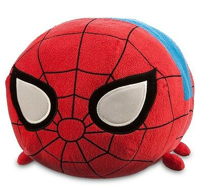 "NEW Authentic US Disney Marvel SPIDERMAN Large 18"" Tsum Tsum Plush Doll"
