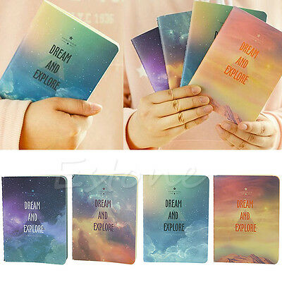 Novelty Galaxy Star Sky A6 Notebook Diary Book Exercise Composition Notepad