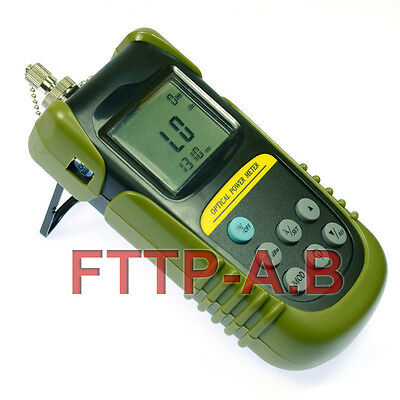 With FC/SC Interface NEW Fiber Optical Power Meter Light Power Meter  +10 to -70