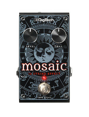 DigiTech Mosaic Polyphonic 12-String Guitar Effects Pedal with Power Supply