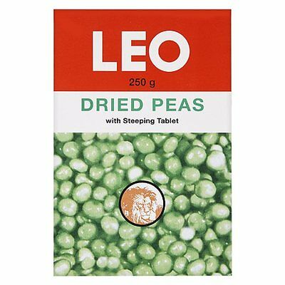 Leo Dried Peas with Steeping Tablet 5 x 250g