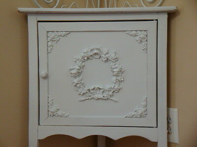 * FURNITURE APPLIQUES CRAFTS 2 PC SHABBY N CHIC CHERUBS WHOLESALE