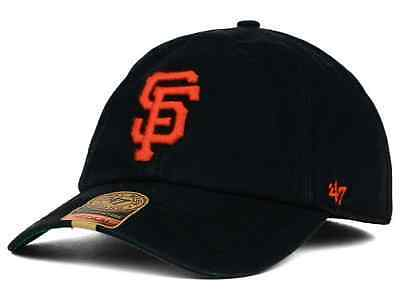 NEW! San Francisco Giants '47 Brand Official MLB Clean Up Cap. Same Day Dispatch