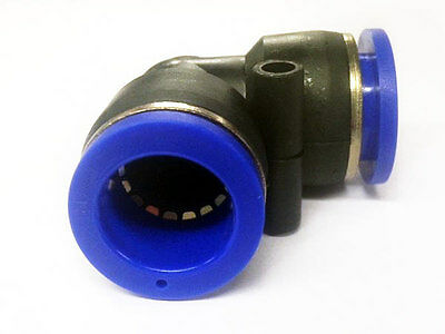 90 Degree Elbow Air Pneumatic Water Hydraulic Push In Fitting 14mm Fitting Pipe