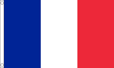 FRANCE FLAG LARGE 5 x 3 FT - French Tricolour Paris - football Euro 2016