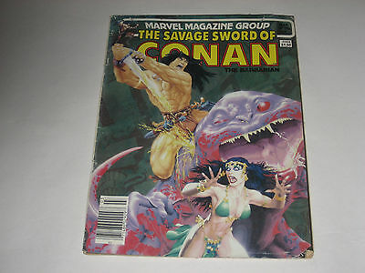 The Savage Sword of Conan the Barbarian #98 March 1984 Marvel Comic Magazine