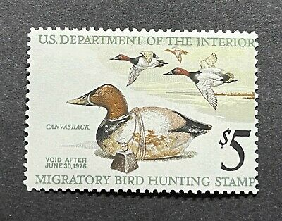 WTDstamps - #RW42 1975 - US Federal Duck Stamp - Mint OG NH