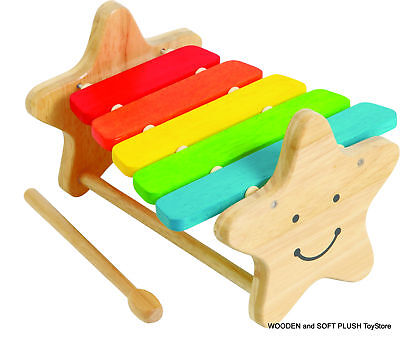 New ~Child Gift Wooden Toy Musical Xylophone Instrument