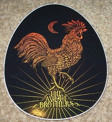"THE AVETT BROTHERS Bros Decal 4"" Sticker ROOSTER tour cd lp album art"