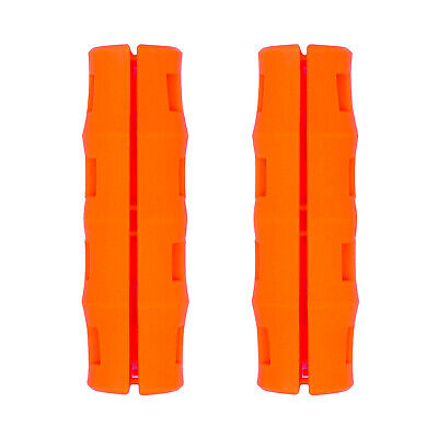 Snappy Grip Safety Orange Ergonomic Replacement Bucket Handles 2 Pack