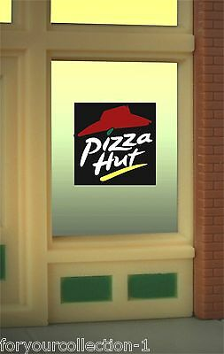 Pizza Hut Animated Neon Window Sign  #8985 MILLER ENGINEERING O/HO