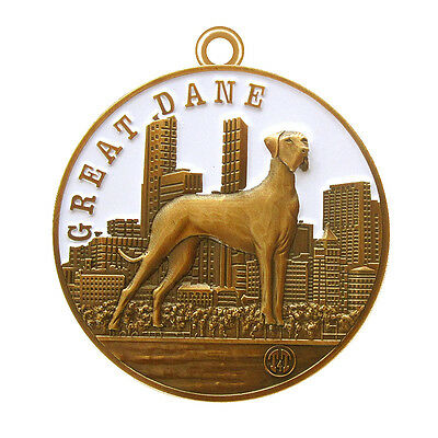 Great Dane dog ID tag 2'' Limited Edition