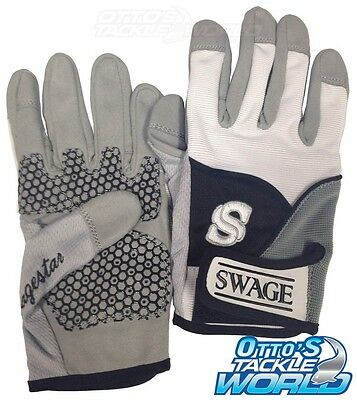 Swage Extreme Fishing Gloves Size Medium (Pair) BRAND NEW at Otto's Tackle World