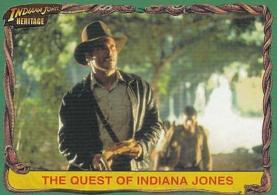 Indiana Jones Heritage Trading Card Set (90 Cards)