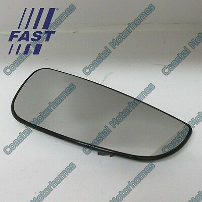 Fiat Ducato Peugeot Boxer Citroen Relay Lower Right Heated Mirror Glass 06-On