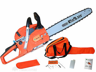 "TIMBERPRO 62cc Petrol Chainsaw with Genuine Oregon Pro-Am 20"" Bar and Saw Chain"