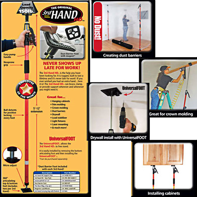 FastCap 3rd Hand Support System 57-to-144-Inches, 2-pack #3HAND5