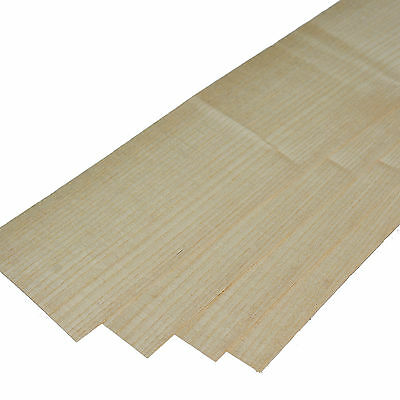 "Wood veneer - Quartered Ash - 4 leafs:  21"" x 4"" ( 54 cm x 11 cm )"