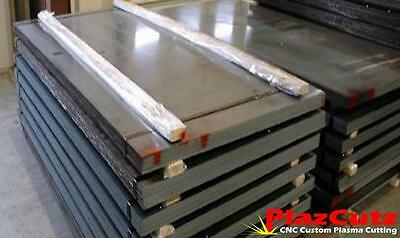 8mm thick MILD STEEL plate sheet profile custom cutting available FREE POSTAGE