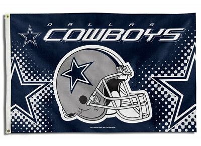 NEW Dallas Cowboys 3x5 Indoor Outdoor Flag Banner NFL Licensed Polyester
