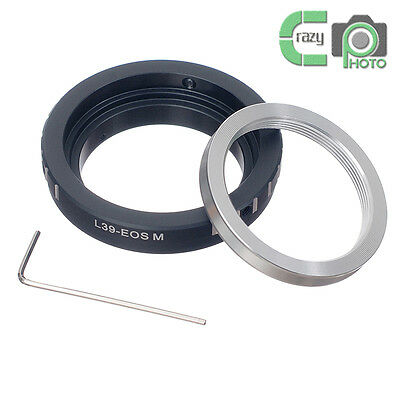 L39-EOS M Adapter for Leica L39 M39 Lens to CANON EOS M EF-M Camera M1 M2 M3
