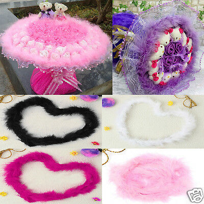 200cm Feather Boa Fluffy Cute Wedding Party Costume Dancing Home Flower Decor