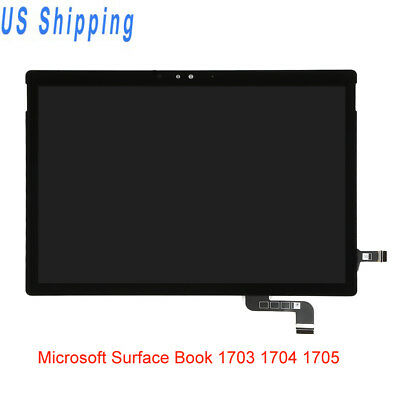 LCD Screen Touch Digitizer For Microsoft Surface Book 1703 1704 1705 Replacement