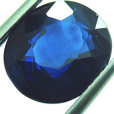 2.75ct RARE CORN FLOWER BLUE SAPPHIRE OVAL SHAPE