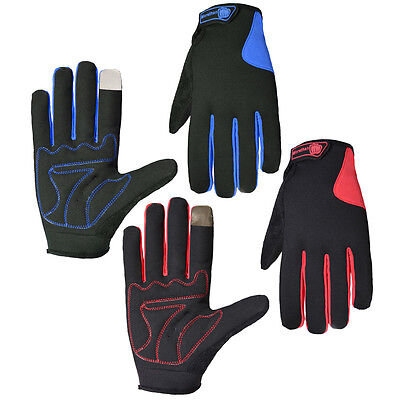 Full Finger Touch Screen Gloves Bike Cycling Bicycle Motorcycle Outdoor Sports