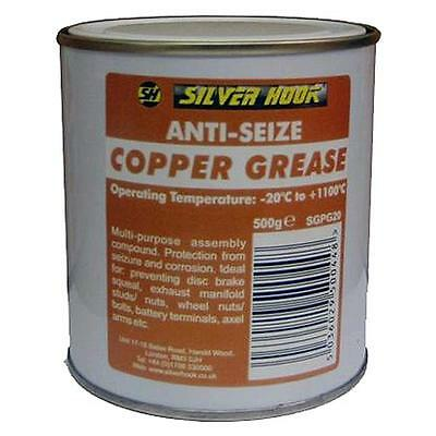 Silverhook Copper Grease 500g Tub High Temperature Anti-Seize Assembly Compound