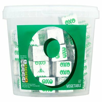 Oxo Vegetable Stock Cubes - 1 384gm