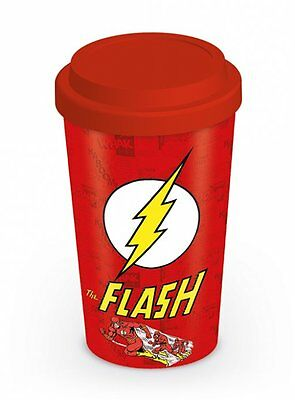 The Flash - Ceramic Travel Coffee Mug / Cup (Running)